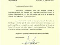 OFÍCIO - CONCORDÂNCIA REALIZAÇÃO DE AUDIÊNCIA PÚBLICA