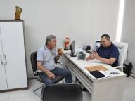 Ex-Vereador Edgar Haacke, visita o Legislativo